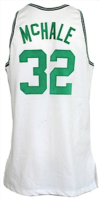 1991-1992 Kevin McHale Boston Celtics Game-Used & Autographed Home Jersey (JSA)