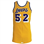Early 1980s Jamaal Wilkes Los Angeles Lakers Game-Used & Autographed Home Jersey (JSA)