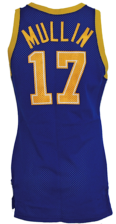 fb1f7f241263 Lot Detail - 1986-1987 Chris Mullin Golden State Warriors Game-Used ...