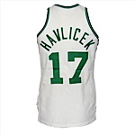 1974-1975 John Havlicek Boston Celtics Game-Used & Autographed Home Jersey (JSA)