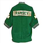 Early 1960s Frank Ramsey Boston Celtics Road Fleece Warm-Up Jacket