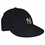 Early 1940s Phil Rizzuto Rookie Era NY Yankees Game-Used Cap