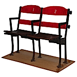 Original Boston Garden / Boston Arena Double Seats