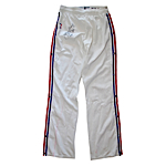 1987 Dr. J Julius Erving Philadelphia 76ers Worn & Autographed Warm-Up Pants (JSA)