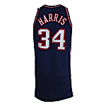 2007-2008 Devin Harris New Jersey Nets Game-Used Road Jersey