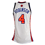 2006-2007 Nate Robinson New York Knicks Game-Used Home Jersey