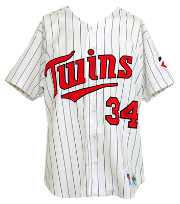 quality design 2ce1e 38c7d Lot Detail - 1992 Kirby Puckett Minnesota Twins Game-Used ...