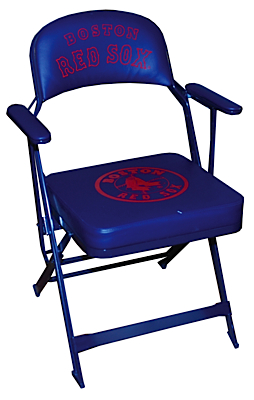 Lot Detail 2007 David Ortiz Boston Red Sox Used Clubhouse Chair