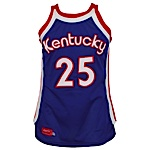 1975-1976 Tom Owens ABA Kentucky Colonels Game-Used Road Jersey