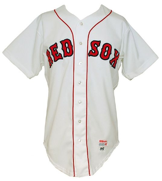 1986 Wade Boggs Boston Red Sox Game-Used Home Jersey (World Series Season)