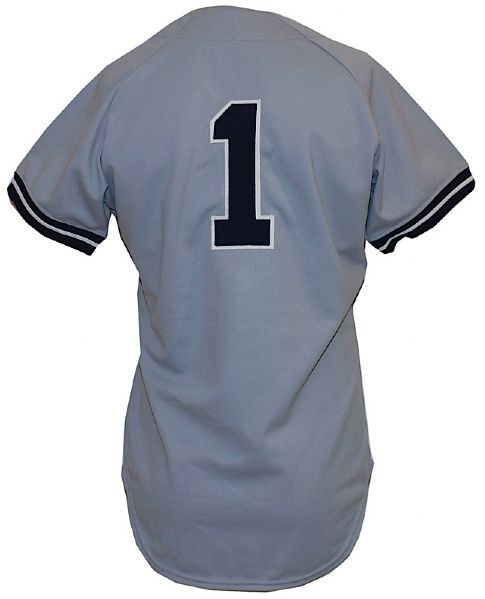 1977 Billy Martin New York Yankees Managers Worn Road Jersey (Championship Season)