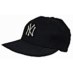 Circa 1980 Reggie Jackson NY Yankees Game Cap (LOA of Provenance)
