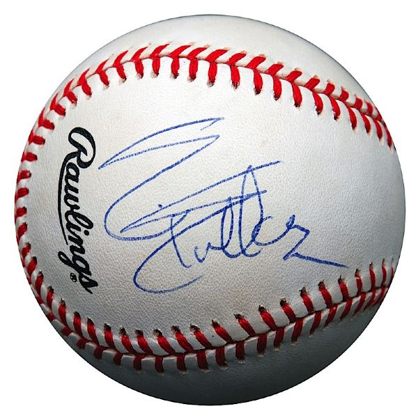 Sylvester Stallone Single-Signed Baseball (JSA)