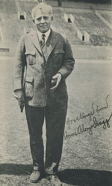 Amos Alonzo Stagg Autographed Photo (JSA)