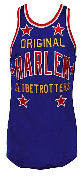 "Late 1960s Robert ""Showboat"" Hall Harlem Globetrotters Game-Used Jersey"