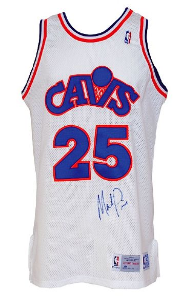 1992-1993 Mark Price Cleveland Cavaliers Game-Used & Autographed Home Jersey (JSA)