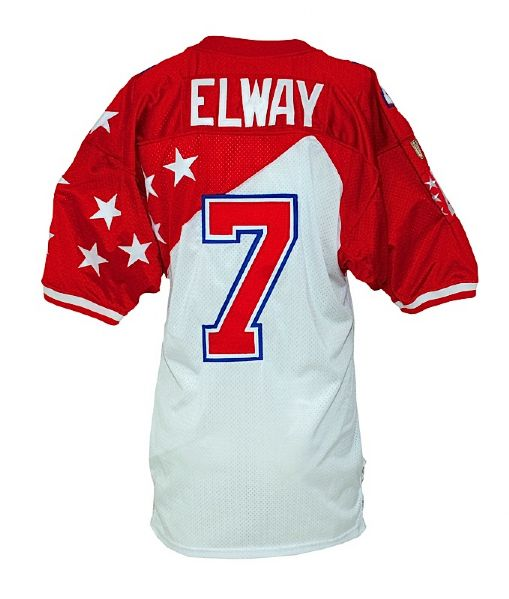 1997 John Elway Pro Bowl Game-Issued Jersey