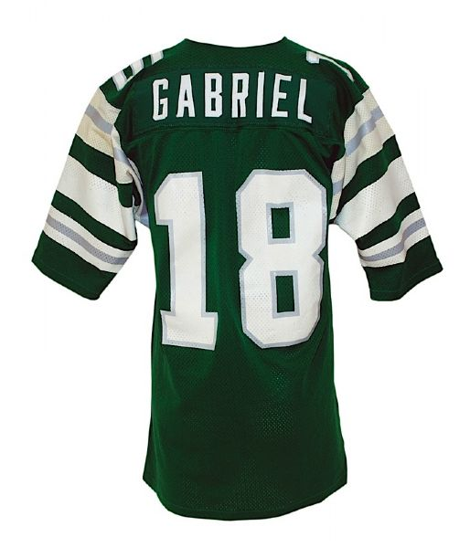 1974 Roman Gabriel Philadelphia Eagles Game-Used Home Jersey