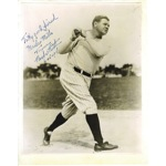 "6/15/48 Babe Ruth Signed ""To my good friend"" 8x10 Photo (JSA)"