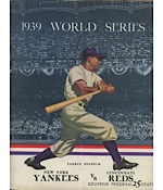 1939 World Series Program