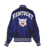 1953-54 Lou Tsioropoulos Kentucky Wildcats Worn Satin Warm-Up Jacket & Pants (2)