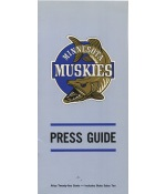 1967-68 Minnesota Muskies First Year ABA Press Guide (One Year Team)