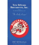 1967-68 New Orleans Buccaneers ABA First Year Press Guide