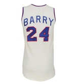 "1972 Rick Barry ABA All-Stars ""Super Games"" Game-Used Jersey (Trautwig Collection) (Barry LOA) (Trautwig LOA)"