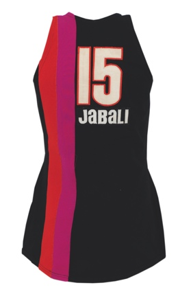 Circa 1971 Warren Jabali Miami Floridians ABA Game-Used Road Uniform with Stirrup Socks (4) (Jabali LOA)
