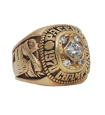1970 Bernie LaReau ABA Indiana Pacers Championship Ring (A Ring) (Great Provenance)