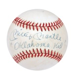 "Mickey Mantle Single-Signed Baseball Inscribed ""Oklahoma Kid"" (Tom Catal Mantle Museum Hologram) (Extremely Rare) (Full JSA LOA)"