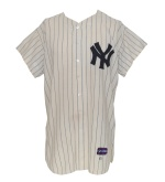 1961 Johnny Blanchard NY Yankees Game-Used Home Flannel Jersey (Championship Season)