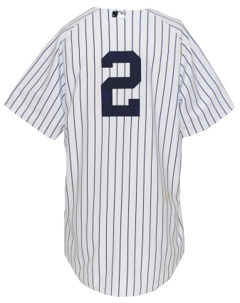 5/5/2010 Derek Jeter NY Yankees Game-Used Home Jersey (Yankees-Steiner LOA) (Photomatch)