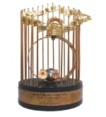 1986 Lee Mazzilli NY Mets World Championship Trophy