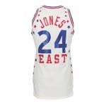 1982 Bobby Jones NBA Eastern Conference Game-Used All-Star Jersey (Jones LOA)