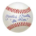 "Spectacular Mickey Mantle Single-Signed Cronin Baseball Inscribed ""The Mick"" (Full JSA LOA)"