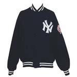 Late 1970s NY Yankees Worn Bench Jacket Attributed to Reggie Jackson
