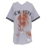 9/28/2011 Curtis Granderson NY Yankees Game-Used Road Jersey (Yankees-Steiner LOA) (MLB) (Photomatch)