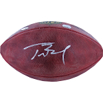 Tom Brady Autographed NFL Football (MM Auth, Tristar Holo, SSM 3rd Party Holo)