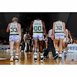 "Bird/Parish/McHale ""Original Big 3"" Autographed 16x20 Photo (PSA Auth)"