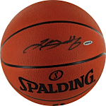 LeBron James Autographed Official NBA Basketball (UDA)