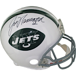 Joe Namath Autographed New York Jets Authentic Throwback Helmet