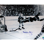 "Bobby Orr Autographed ""The Goal"" 16x20 Photo (Orr Auth)"