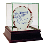 Perfect Game MLB Baseball Autographed By Sandy Koufax, Don Larsen, Mike Witt, Jim Bunning, Tom Browning, Len Barker, David Cone, Randy Johnson, David Wells (OA/Steiner Auth)