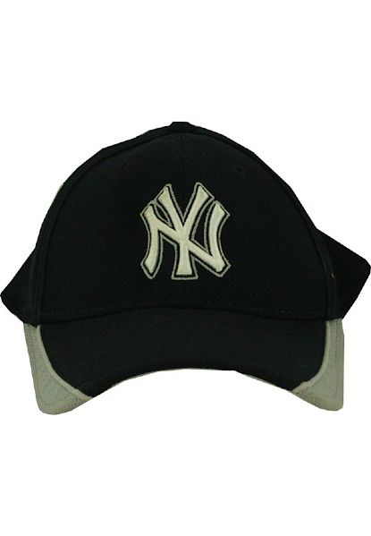 Sergio Mitre #45 2009 Yankees Spring Training Used Home BP Cap (Cool Base) (M-L)