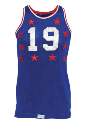 1951 Vern Mikkelsen NBA Western Conference All-Star Game-Used Jersey (Inaugural All-Star Game)(Mikkelsen LOA)