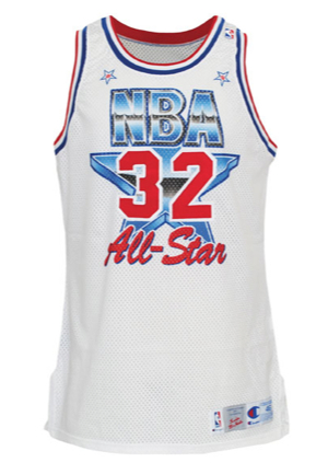 1991 Kevin McHale NBA All-Star Game-Used Eastern Conference Jersey (NBA COA Signed by David Stern)