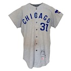1970 Fergie Jenkins Chicago Cubs Game-Used & Autographed Road Flannel Jersey (JSA)(Jenkins LOA)(Photomatch)