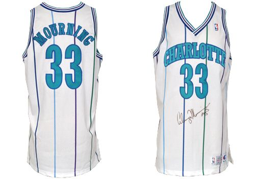 the best attitude f8234 908fc Item Detail - 1992-1993 Alonzo Mourning Rookie Charlotte ...