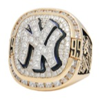 "1999 New York Yankees World Championship ""A"" Ring with Original Presentation Box (Mint)"